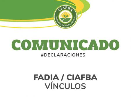 Comunicación CIAFBA / FADIA