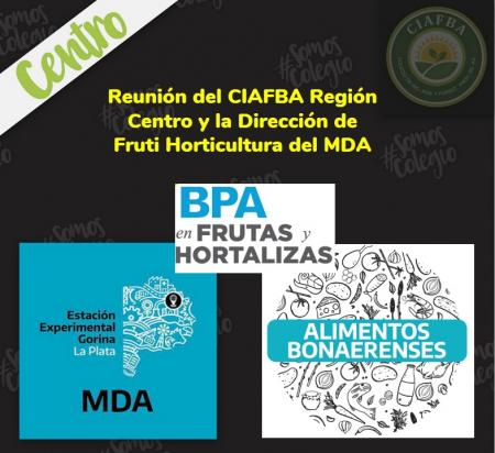 Reunión del CIAFBA con la Dirección de Fruti Horticultura del MDA