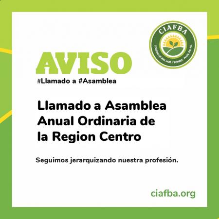 Resolución CD Región Centro - Llamado a Asamblea
