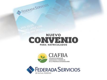 Convenio entre el CIAFBA y Federada Servicios