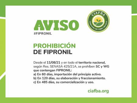 Aviso importante: Fipronil
